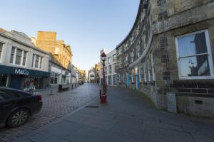 Wick town centre, Sustrans Street Design programme