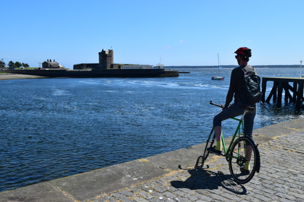 National Cycle Network Route 1 between Dundee and Arbroath, August 2019