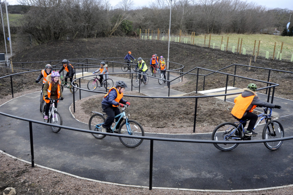 Sustrans Scotland STEM bike ride Midlothian ©2018, Sustrans Scotland
